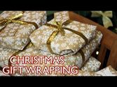How To Wrap A Christmas Gift!