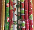 3 PACK CHRISTMAS FOIL WRAPPING PAPER (styles will vary)