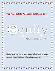 Top Real Estate Agents in Salt Lake City