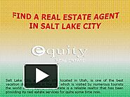 Find a Real Estate Agent in Salt Lake City