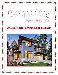 What is My House Worth in Salt Lake City?