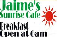 Jaime's Sunrise Cafe Restaurant - Avis, PA