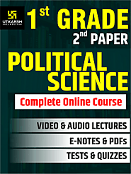 RPSC 1st Grade Teacher SET 2 – Political science Online Course UpTo 50% OFF