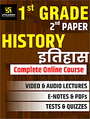 RPSC 1st Grade Teacher SET 2 – History Online Course UpTo 50% OFF