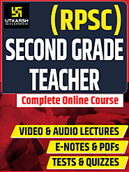 RPSC 2nd Grade First PaperOnline Course upto 50% OFF