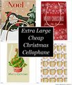 Extra Large Cheap Christmas Cellophane Gift Bags