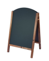 Reversible Curved Top Chalkboard A-Board - Chalkboard Displays & A-Boards - Hertfordshire, London UK