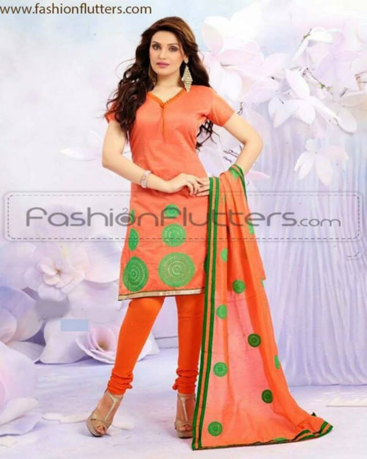 Headline for Best chanderi cotton salwar sets Online 2014 churidar material