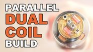 Plume Veil RDA Clone Parallel Dual Coil Build - .26 Ω