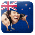 New Zealand Flag Frames