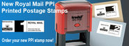 Royal Mail PPI Rubber Stamps