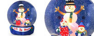 Inflatable Snow Globes for the Yard