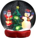 Inflatable Snow Globe Christmas Decorations
