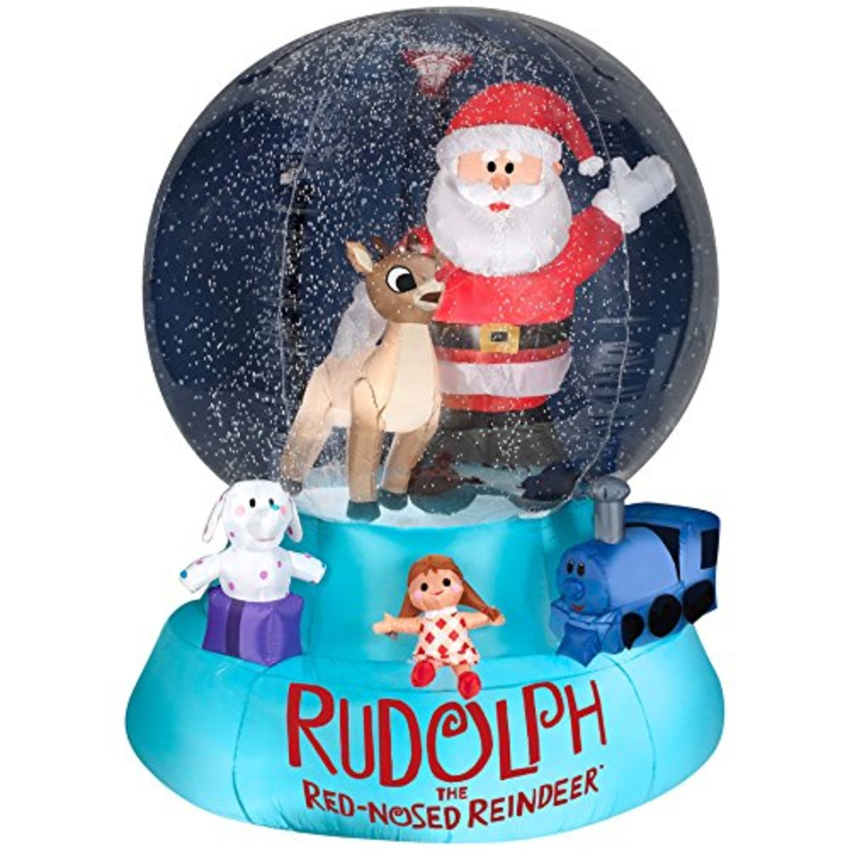 Headline for Fun Inflatable Snow Globe Christmas Decorations