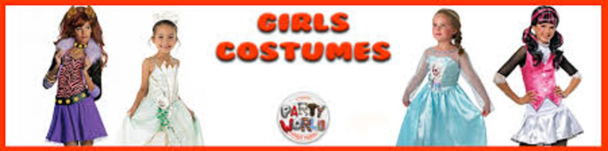 Headline for The most Popular Costumes For Girls 2014
