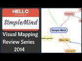 SimpleMind (iOS) Review - Visual Mapping Review Series 2014