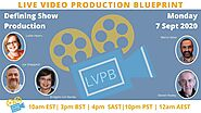 What services can live video producers provide ? the Live Video Production Blueprint