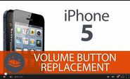 How To Replace Your iPhone 5s Volume Control?
