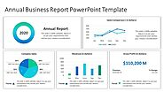 Annual Business Report PowerPoint Template | PowerPoint Slides