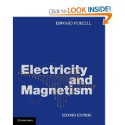 Electricity and Magnetism, by Edward Purcell