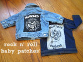 DIY Baby Patches for Jackets