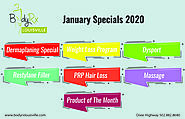BodyRx Louisville Medical Spa January Specials 2020