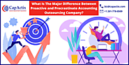 What Is The Major Difference Between Proactive and Procrastinate Accounting Outsourcing Company?