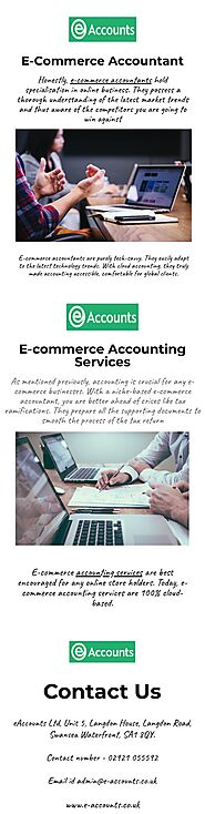 Ecommerce Accountant | Ecommerce Businesses Accounting