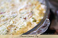 Delicious & Easy Party Appetizer: Broccoli Artichoke Dip - Dear Creatives