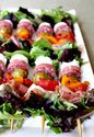 Antipasto Salad Kabobs - Mantitlement