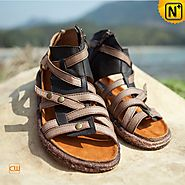 Womens Flat Strappy Sandals CW305216 - cwmalls.com