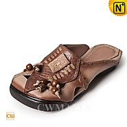 CWMALLS Leather Wedge Sandals CW306205
