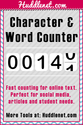 Character Count Online