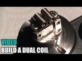 Kayfun Dual Coil Build - 28ga 1 Ohm.