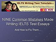 IELTS Writing Adelaide - Nine Common Mistakes Made with IELTS Writing…