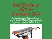 Best Christmas Gifts for Gardeners 2014