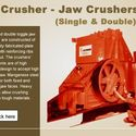 Smooth Double Roller Crusher - Usage And Features And Working Principle