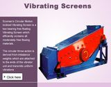 How You Can Enhance The Consequences Of Circular Motion Vibrating Screen?