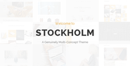 Stockholm - A Genuinely Multi-Concept Theme