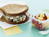 Crunchy Turkey Salad Sandwiches Recipe