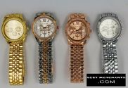 Michael Kors Fashion watch with calendar free shipping 4 colors
