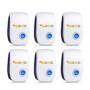 GADINO Ultrasonic Pest Repellent - Indoor Plug, Electronic and Ultrasound Repeller - Insects, Mosquitoes, Mice, Spide...