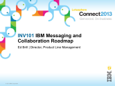 INV101: Messaging and Collaboration Roadmap