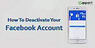 How To Deactivate Your Facebook Account on Various Operating Systems