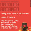 5 Laws of Lurking #lurkerchat | UGC list creation, content curation & crowdsourcing.