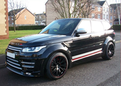 A Ride in Luxurious & Dynamic Range Rover Sport