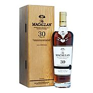 Macallan 30 Year Old Sherry Oak 2019 Release, 70cl, 43% ABV — Old and Rare Whisky