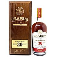 Crabbie 30 Year Old Speyside Single Malt Scotch Whisky, 70cl, 53.5% AB — Old and Rare Whisky