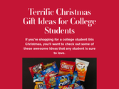 Terrific Christmas Gift Ideas for College Students