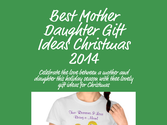 Best Mother Daughter Gift Ideas Christmas 2014
